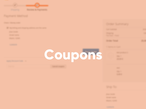 Tile with Coupons Extension screenshot
